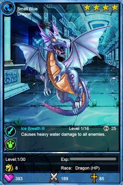 Small Blue Dragon