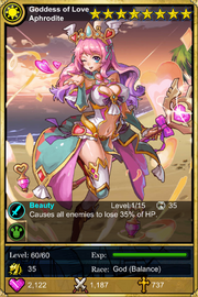 Goddess of Love Aphrodite