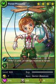 Forest Pinocchio