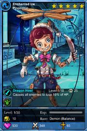 Enchanted Ice Pinocchio