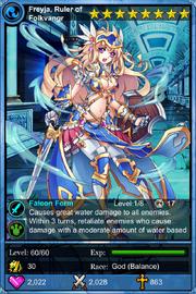 Freyja, Ruler of Folkvangr