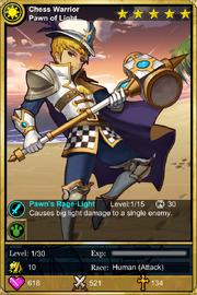 Chess Warrior Pawn of Light