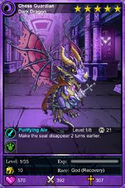 Chess Guardian Dark Dragon