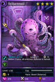Colossal Octopus