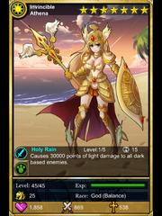 Invincible Athena