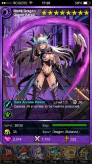 Black Dragon Queen Azrael