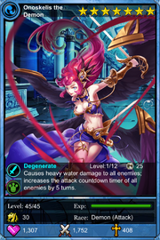 Onoskelis the Demon