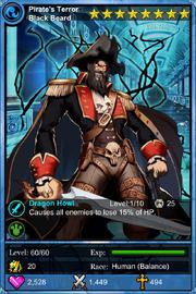 Pirate's Terror Blackbeard