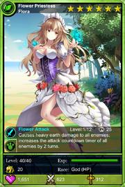 Flower Priestess Flora