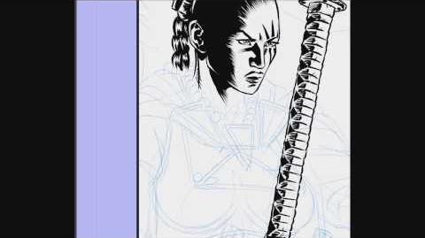 Dragonero - inchiostrazione vignetta - comic inking - Manga Studio 5 - real time