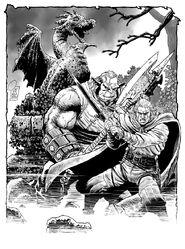 Mantova Comics 2013 Giancarlo Olivares