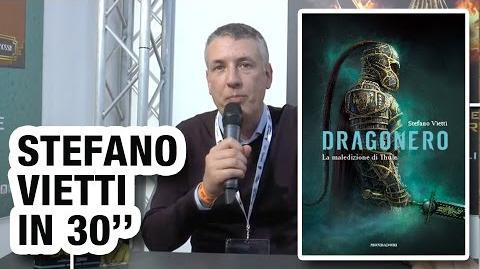 """Stefano Vietti racconta """"Dragonero"""" in 30 secondi"""