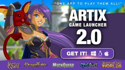 Artix Game Launcher 2