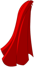 Red Hero's Cape
