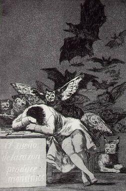 Sleep of Reason - Goya