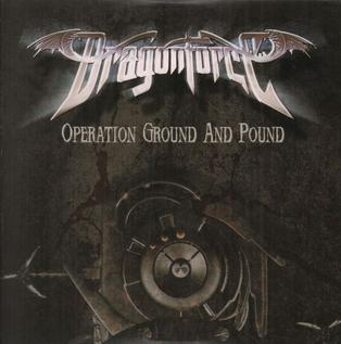 DragonForce - Operation Ground and Pound CD single