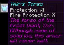 Ymirs torso