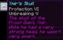 Ymirs skull