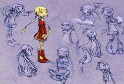 Zoe - sketches