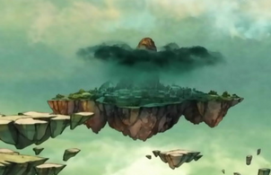 Island of rain