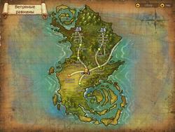 Vetran map