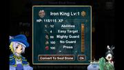 Iron King Stats