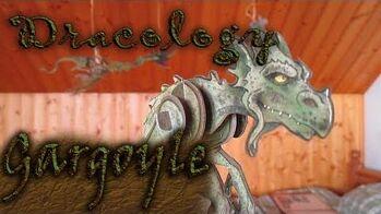 "Dracology- The ""towerdiving"" gargoyle"