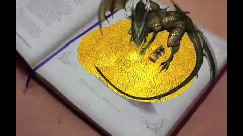 Hologram from Drake's Comprehensive Compendium of Dragonlogy