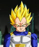 Vegeta as a Super Saiyan