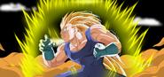 New Super Saiyan 3 Vegeta