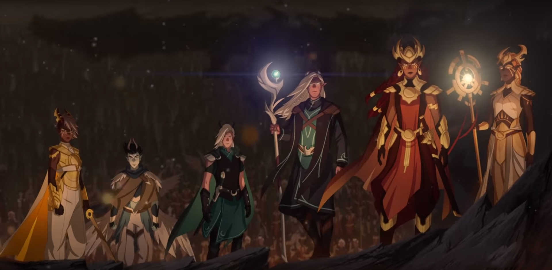 Elves The Dragon Prince Wiki Fandom Powered By Wikia