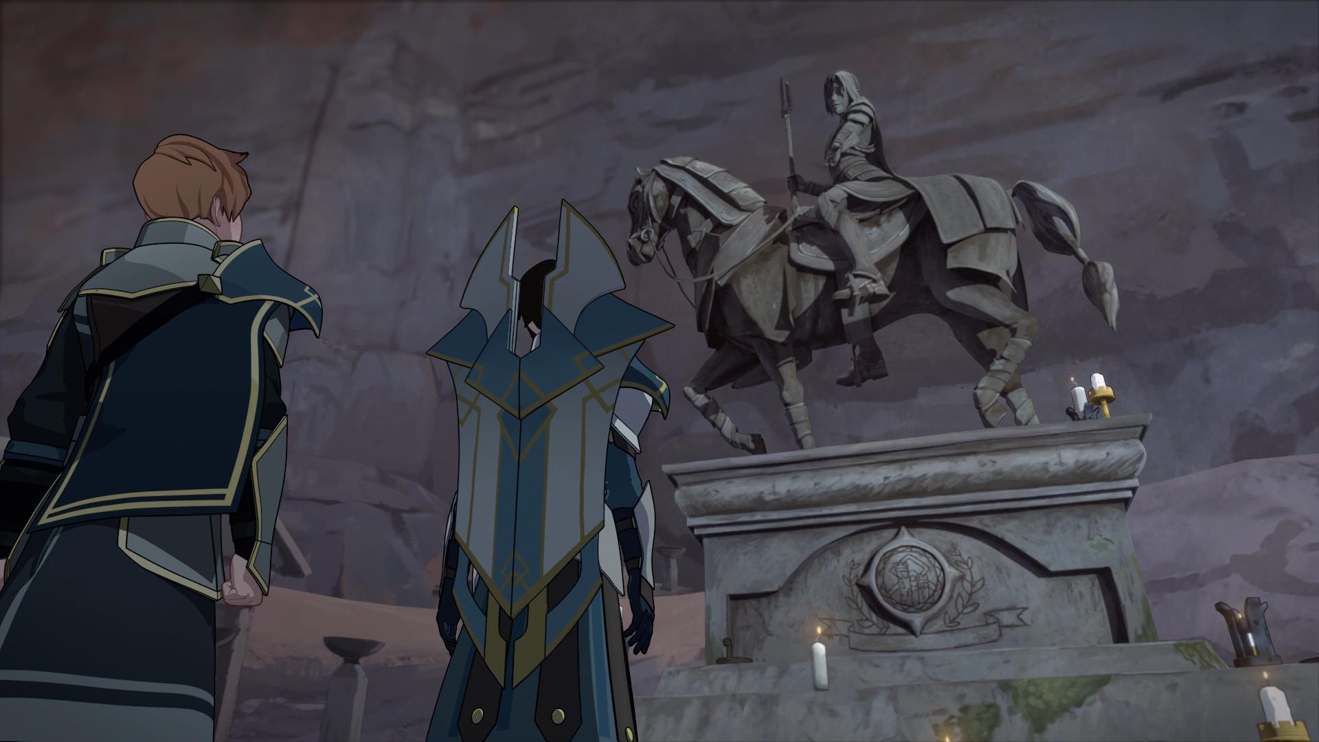 An Empty Throne The Dragon Prince Wiki Fandom Powered