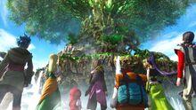 Dragon quest xi-yggdrasil