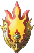 DQVIII3DS - Flame shield