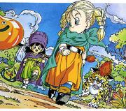 Artwork de Bianca y Madason de niños (DQV)