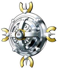 DQVIII - Metal king shield