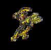 DQMTW3D - Yellow ninja slime