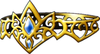 DQVIII - Golden tiara
