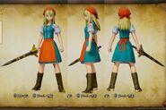 PS4 DQ11 Emma 3DCG