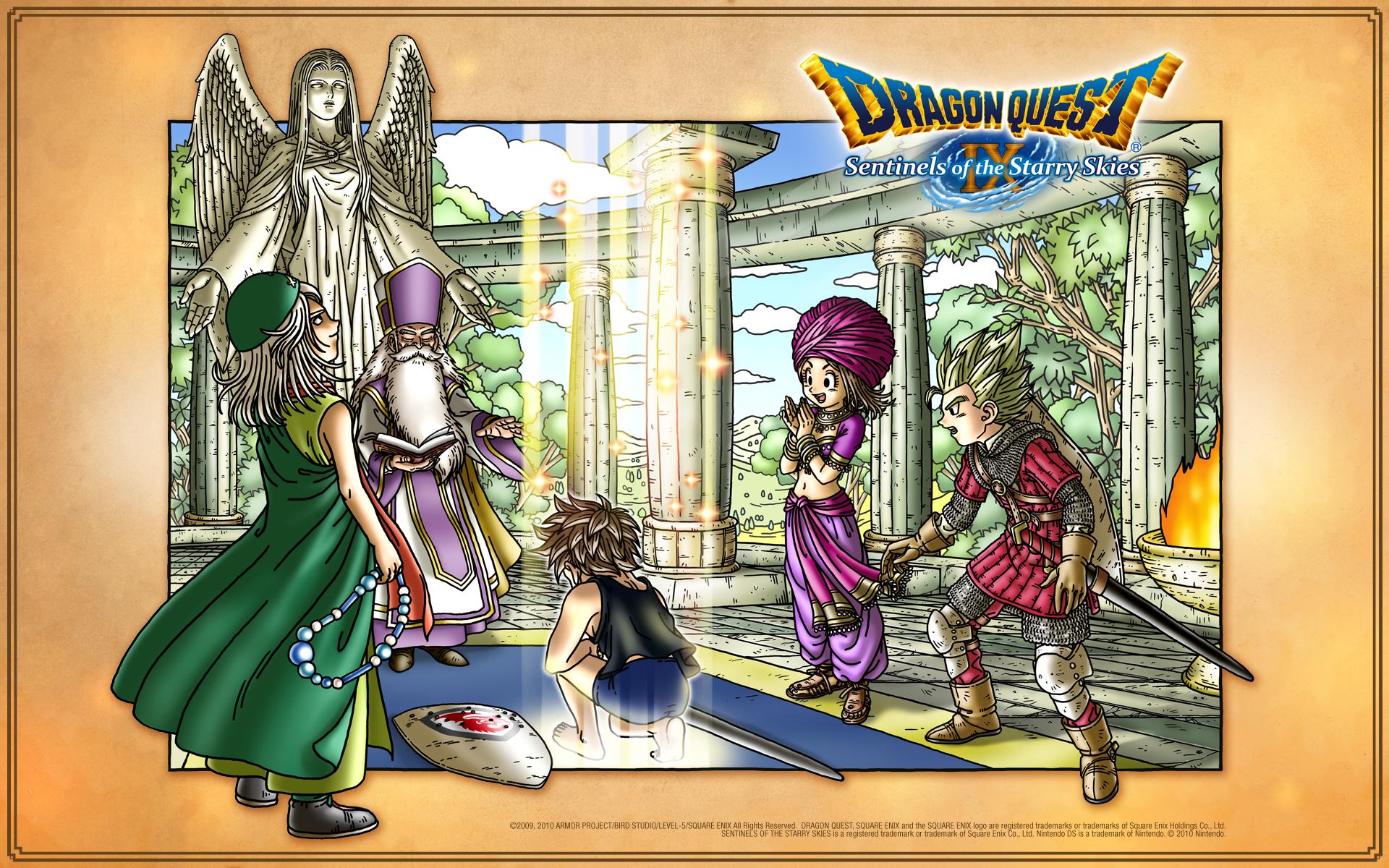 儀式中のドラゴンクエスト
