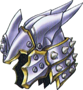 DQVII3DS - Metal king helm