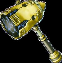 DQVIII - Megaton hammer