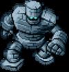 DQXI - Stone golem 2D