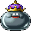 DQXI - Metal king slime 2D