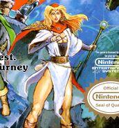 Dragon Quest II princess front cover