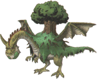 DQX - Forest dragon