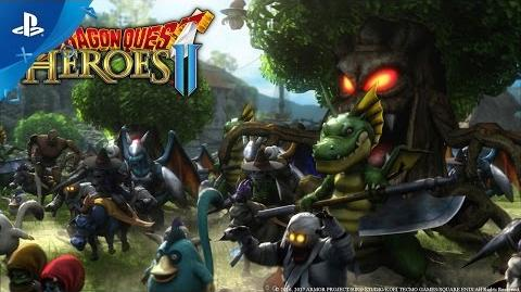 DRAGON QUEST HEROES II - Announcement Trailer PS4