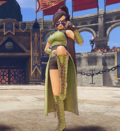 DQXI - Masked Jade in Battle