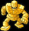 DQiOS - Gold golem