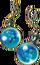 Anti-freeze earrings